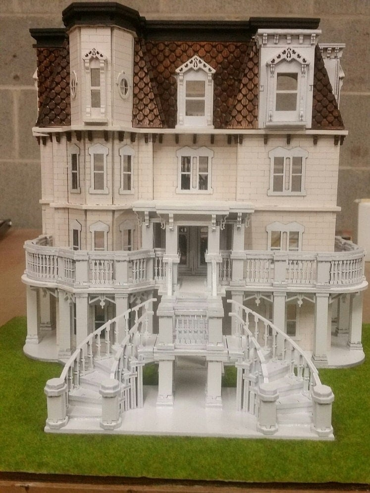 Hegeler Carus Mansion 1 48 Scale Dollhouse