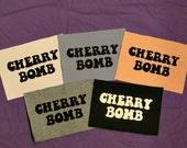 Cherry Bomb Patches