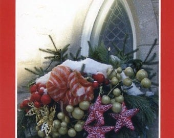 Christmas in Quebec - church window