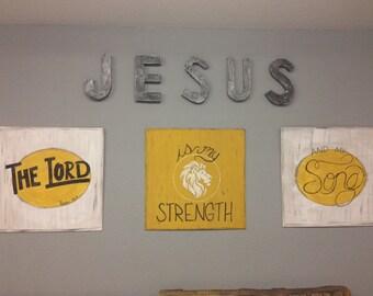 Scripture Signs- Set of Three