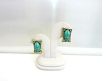 Egyptian Scarab Earrings Judy Lee