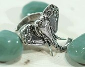 "Spoon Ring: ""Elephant"" by Silver Spoon Jewelry"