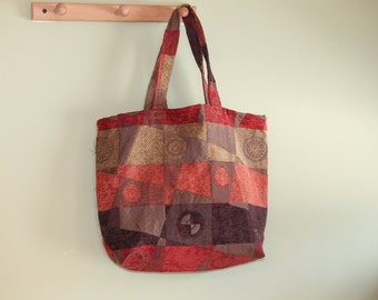 Upholstery shopping tote
