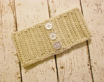 Crochet Ribbed Sweater Style Earwarmer Headband-Toddler to Adult
