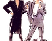 New Look Separates Pattern 6063 - Misses' Double Breasted Jacket, Pencil Skirt and Slim Pants - Sz 8 thru 18