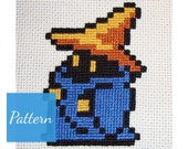 Black Mage (Final Fantasy) Cross Stitch Pattern featured image