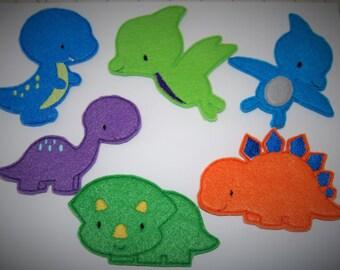 Dinosaur Finger Puppet Play Set