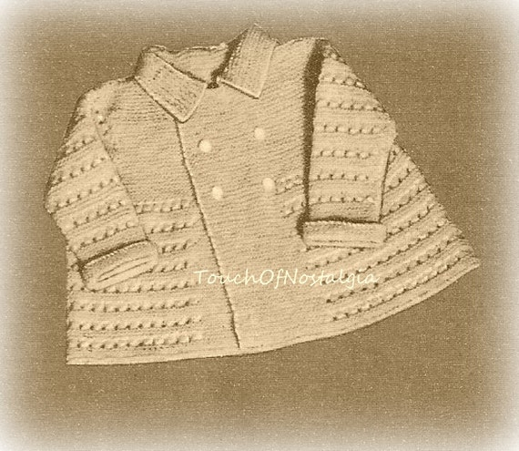 Knitting Pattern Baby Boy Christening : Boy Baby LAYETTE Knitting Pattern LITTLE by touchofnostalgia7