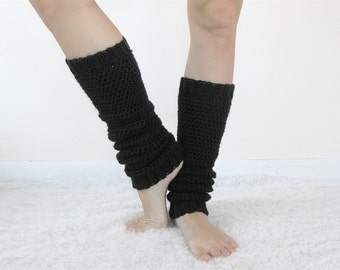 Yoga Leg Warmers Women | 80s Leg Warmers | Crochet Leggings | Ballet Legwarmers | Pilates Socks