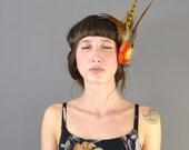 Acorn - Autumnal Feather Headpiece