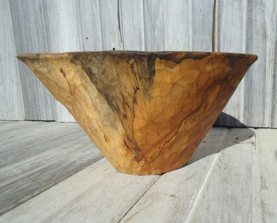 Spalted Maple Wood Bowl Maple Wood Bowl Spalted