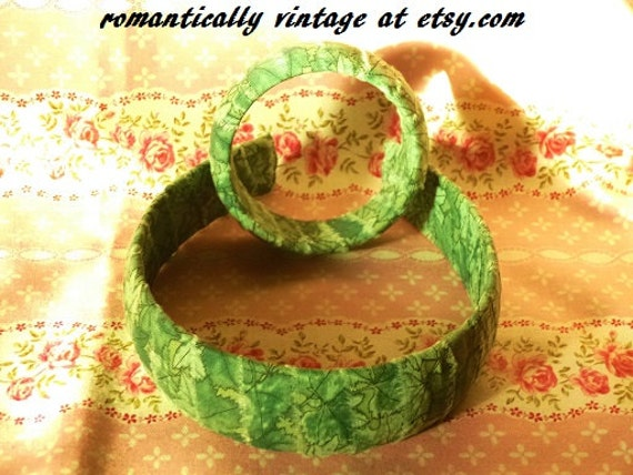 Leaf Pattern Headband Bangle Set, Nature Jewelry, Enchanted Forest, Woodland Bracelet, Cottage Chic Jewelry, Outdoor Rustic Wedding, Fairy