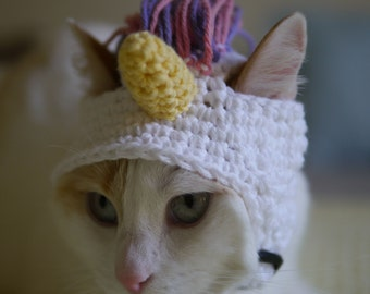 Unicorn Hat for Pets