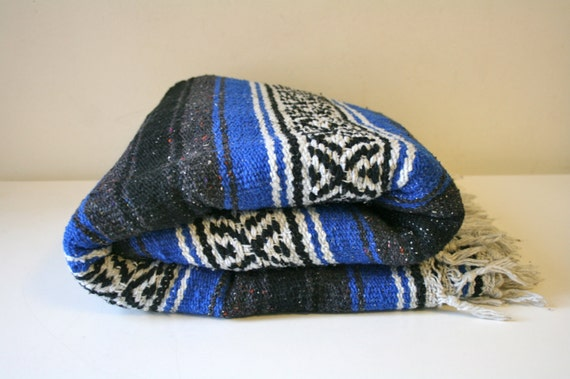 Blue Mexican Blanket