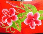 Hibiscus batik sarong on SALE!!!!