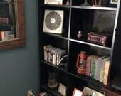 Rustic Handmade Tall Wooden Bookshelf