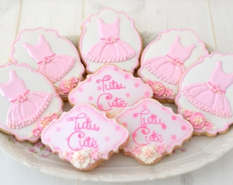 12 Tutu Sugar Cookies