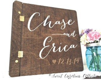 Rustic Wedding Album | Wedding Guestbook | Rustic Guestbook | Rustic Wedding Album | Wedding Guestbook | Wedding Photo Book - IG-8