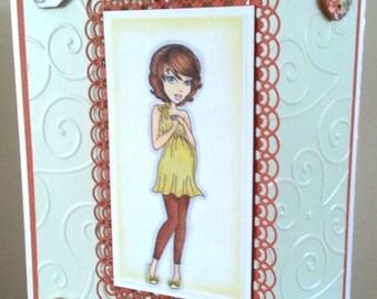 Handmade Baby Congrats Card