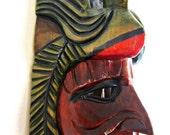 Mayan Wooden Mask (A4)