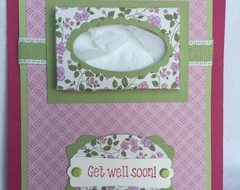 Get Well Soon-Tissue Box