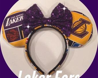 Lakers Minnie Ears