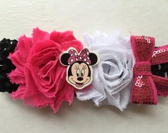 Minnie Mouse Crochet Headband