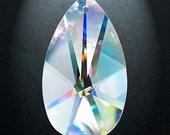 10 Asfour 30% Lead Crystal European Cut  Chandelier Prism Suncatcher Pendants 38mm Clear