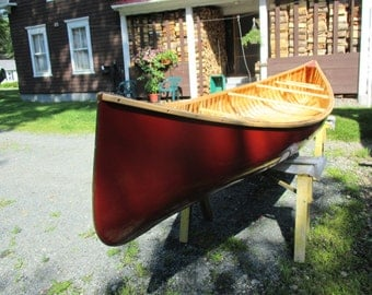 15 ft Wood and Canvas Rangeley Lake Guide Canoe