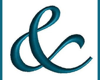 Ampersand  Embroidery Design And Embroidery Design Embroidered And Machine Embroidery Design & sign