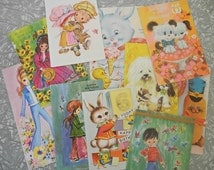 Greeting Cards MIX Cute & Girly