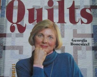 Easy Does It Quilts Book Georgia Bonesteel