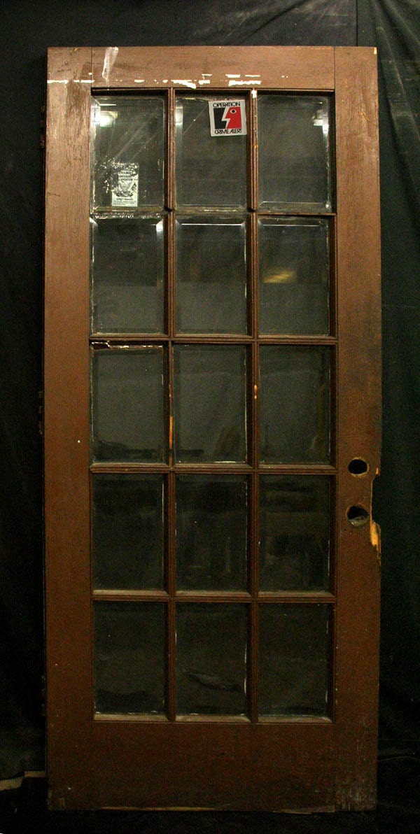 36x83 antique oak exterior entry french door 15 for 15 french door