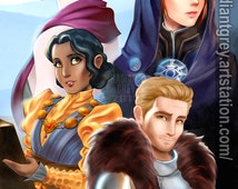 Dragon Age Inquisition - Advisors of Skyhold