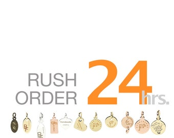 Rush Order for Custom Laser Engraving Jewelry Tag Production, Ready to Ship in 24 Hours