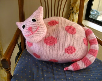 Cat Pillow - Stuffed Animal Toy - Kids Room Decor