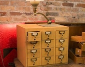 12 Drawer Card Catalog