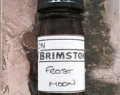 Frost Moon perfume oil - vanilla, white sugar, tonka bean, thyme, spearmint