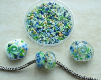 0402 Spring Love - Glass Frit Blend - K1 - COE 92-96 (can be used on glass with COE 90 till 104) - 25 gr - Sra