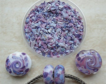 0201 Purple Illusion - Glass Frit Blend - K1 - COE 92-96 (can be used on glass with COE 90 till 104) - 25 gr - Sra