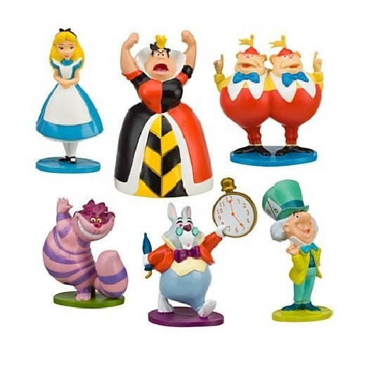 alice in wonderland wedding cake toppers mini in cake topper by biancasboutiquebows 10671