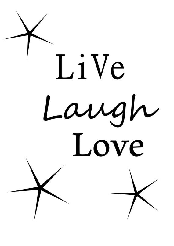 Download Live Laugh Love SVG file for Cricut Explorer by PinkWitchery