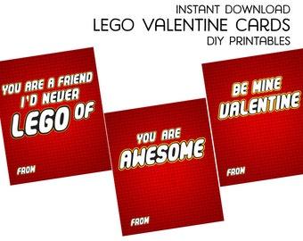 Lego Valentine   Etsy