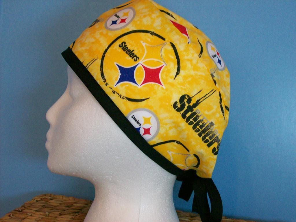 Pittsburgh Steelers Tie Dye Nfl Football Unisex Scrub Hat Cap