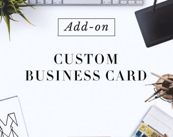 Custom Made Business Card Design