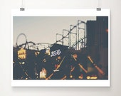 las vegas photograph las vegas print travel photography hotel photograph retro sign photograph roller coaster photograph