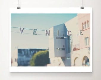LA photograph Los Angeles photograph Venice Beach photograph California photograph travel photography California print