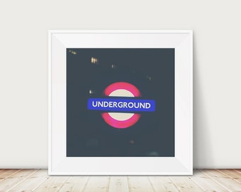 london photograph london underground photograph london print london decor london underground print tube photograph tube print