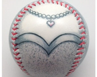 Bride Baseball, Gift baseball, Baseball Fan, Bride gift, Baseball Wedding Gift (OCCASION10)