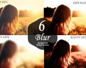 6 Blurred Background Maker Photoshop Actions